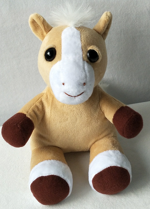Dreamer Plushie supports our Second Chances Horse Project
